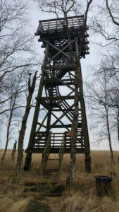 Wieża widokowa Kluki, stan istniejący